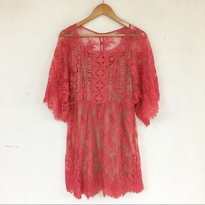 Tracy Reese Plenty Floral Lace Dress